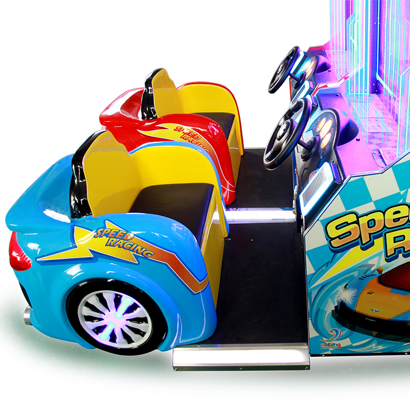 Factory coin operated arcade fast speed car racing video game machine