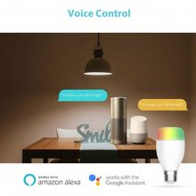 Newest Rgb Light Bulb Led Smart Work With Alexa And Google Home