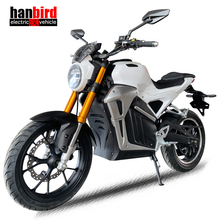 Hanbird High Speed Adult Electric Motorcycle with 8000w Motor