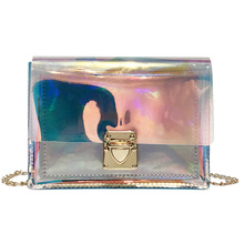 Cathylin 2019 Women Handbag PVC Jelly Purse Transparent Fashion Clear Shoulder Crossbody <strong>Bags</strong> <strong>tote</strong> Handbag Laser