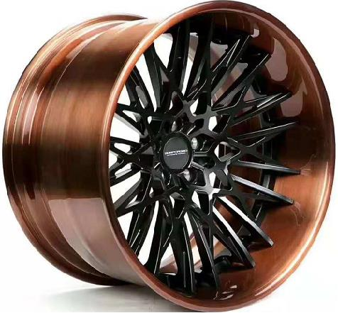 2019 Hot factory 18 19 20 21 22 inch Best quality colorful 2pcs concave big lip forged <strong>wheels</strong>