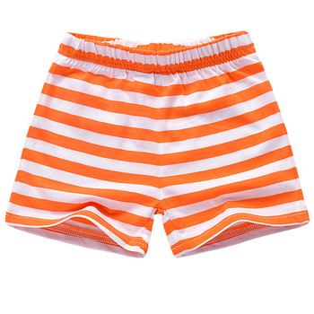 FS0744B 2019 western style cartoon orange kids swim shorts