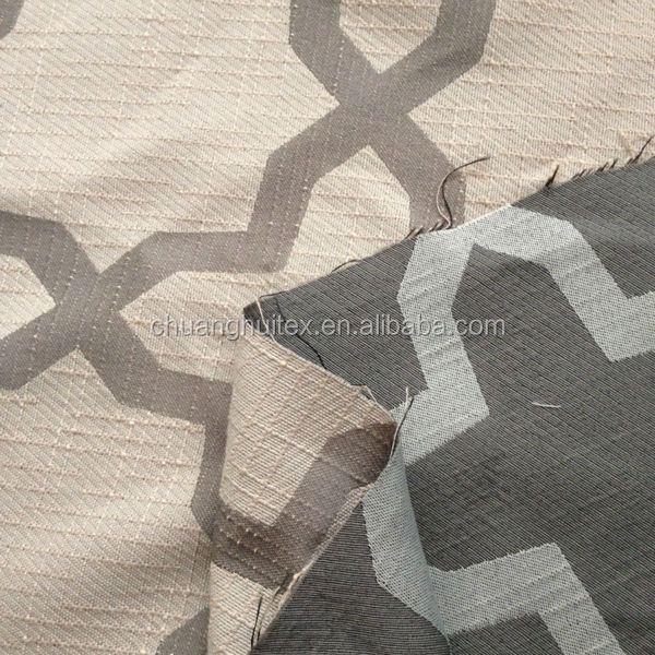 New Arrival thermal insulation yarn dyed jacquard blackout fabric for curtain