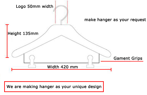 Assessed Supplier LINDON 1 pack big size coat hanger for amazon