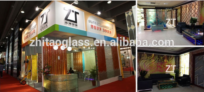 Modern frost translucent casting glass screen