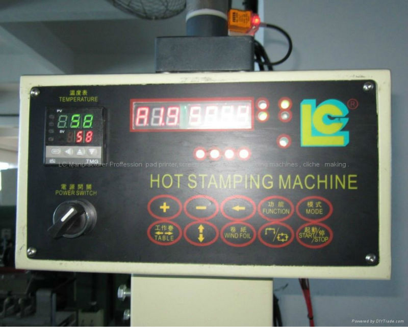 High quality Printing Machine of Heat Press Machine  for  bottle caps  TC-250K