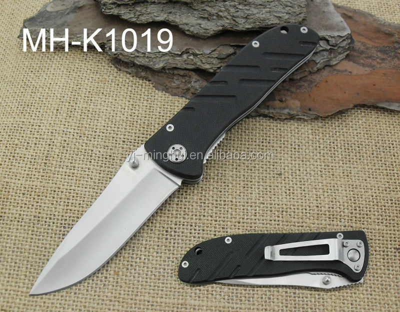 new pocket knife with G10 handle
