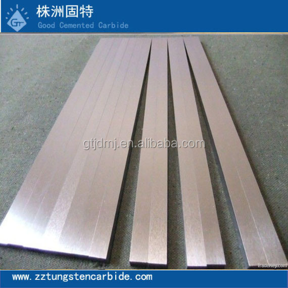 Hunan wearing resistance tungsten carbide bars/strips in all sizes