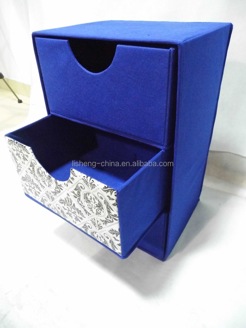 high quality storage box with 3 drawer