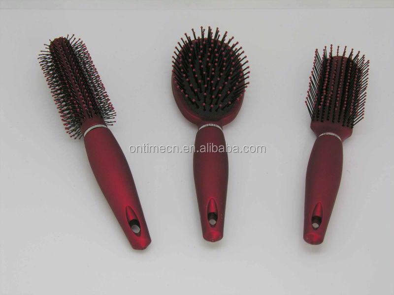 dry hair brush, Professional hair brush, Microfiber Hair Brush, hair brush in hair brush, colorful detangling hair brush,