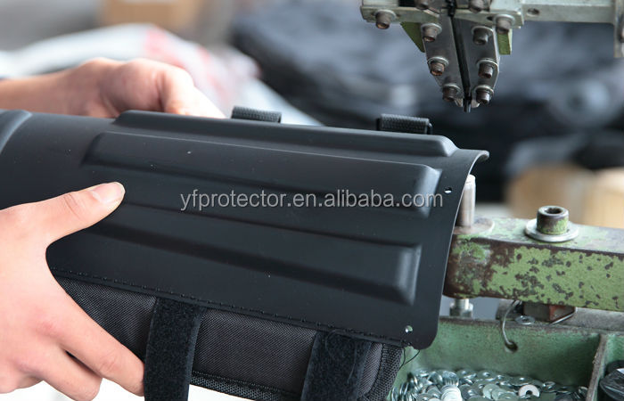 PC Anti Riot Shield with Rubber Edges