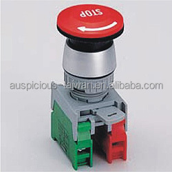 22mm, 30mm Latching Emergency Stop Push Button Switch