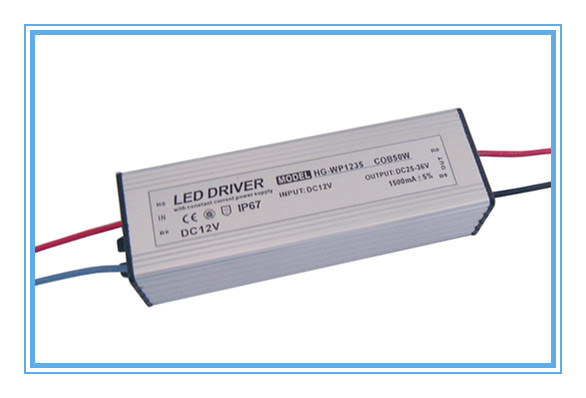 12V dc input 50w cob led power supply