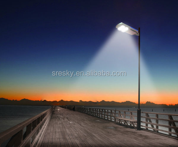 Sky Waterproof European Solar Garden Light Column With Super Bright Led