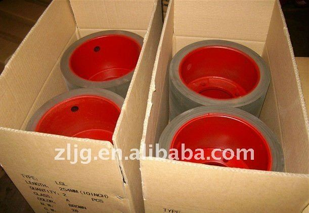 rice huller rubber roller for rice mill machinery spare parts