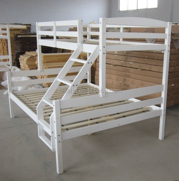 ( WJZ-B69 ) solid pine wood children double layer bed