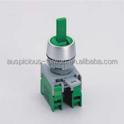 22mm Changeover Switch 3 Position Spring Return Selector Switch, IP65 (LUS223)