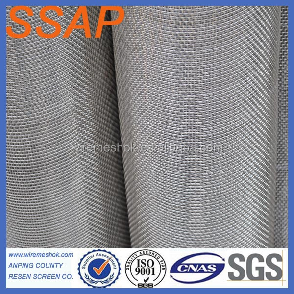 AISI 316L Stainless Steel Crimped Wire Mesh For Roast