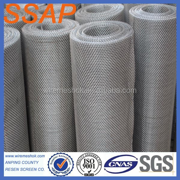 316 Stainless Steel Crimped Wire Mesh For Roast