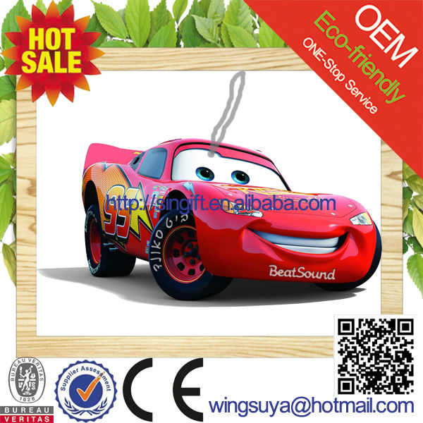 2017 Promotional Paper Car Perfume/Paper Air Freshener