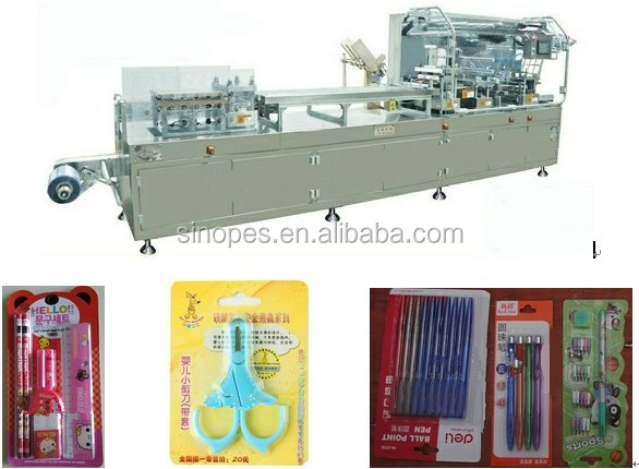 Automatic Stationery Blister Packaging Machine