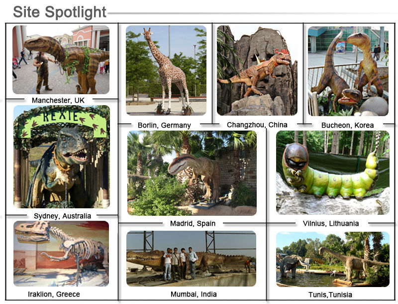 Dinosaur Animatronics Outdoor Decor for Event