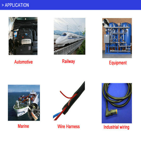 Split Nylon Plastic Flexible Conduits Wire Loom Split Conduit Hose ...