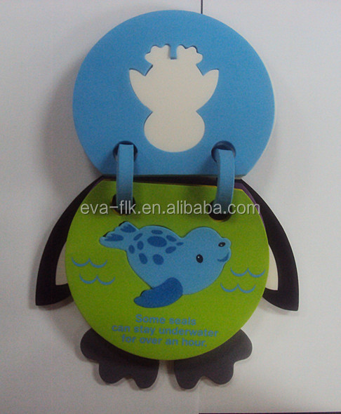 Children Cartoon EVA Foam Book Education Toy
