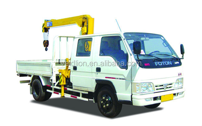 4x2 Hydraulic Truck with Crane 5000kg for sale