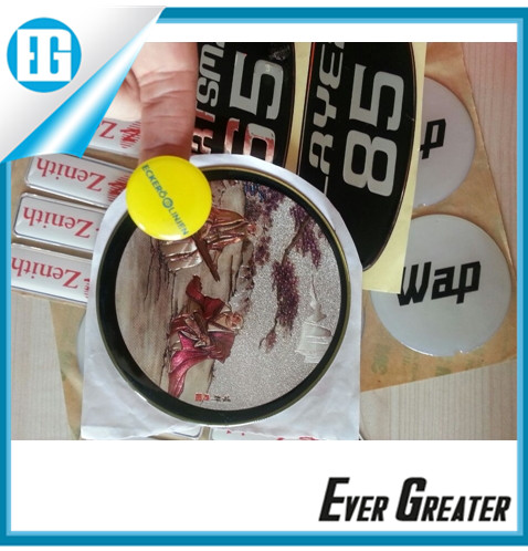 Logo Epoxy Dome sticker, Custom Customized Personalised Epoxy Dome sticker