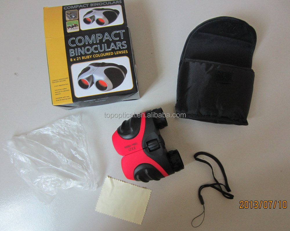 Hot selling Infrared 8x21 mini optic binoculars with nice look and high quanlity