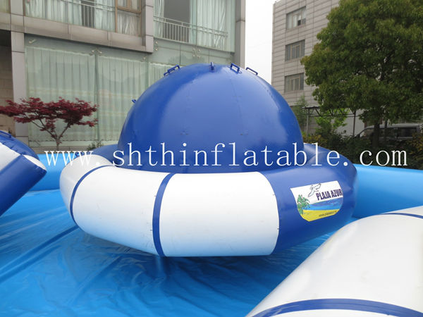 small inflatable water park/mini water parks/aqua park