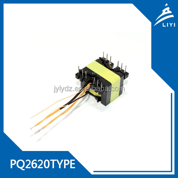 PQ2620 High-frenquency Vertical 220v to 380v step up Transformers