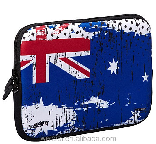 2014 New arrival Hot selling cheaper camo neoprene laptop sleeve