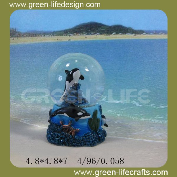 Wholesale Polyresin sea turtle water ball