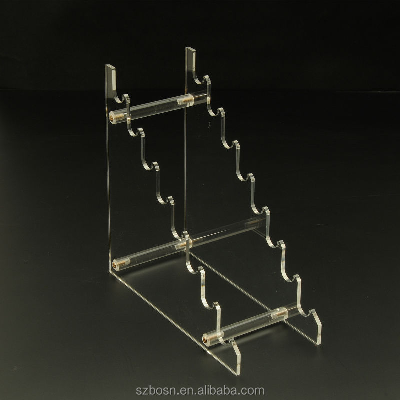Clear Plexiglass pen display holder