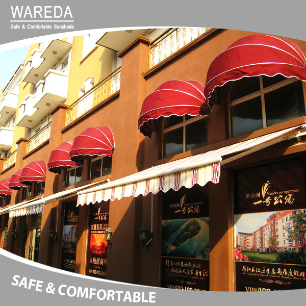 single door awning canopy