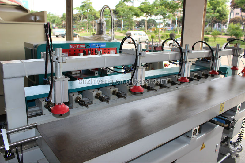 Horizontal multi spindle drilling machine