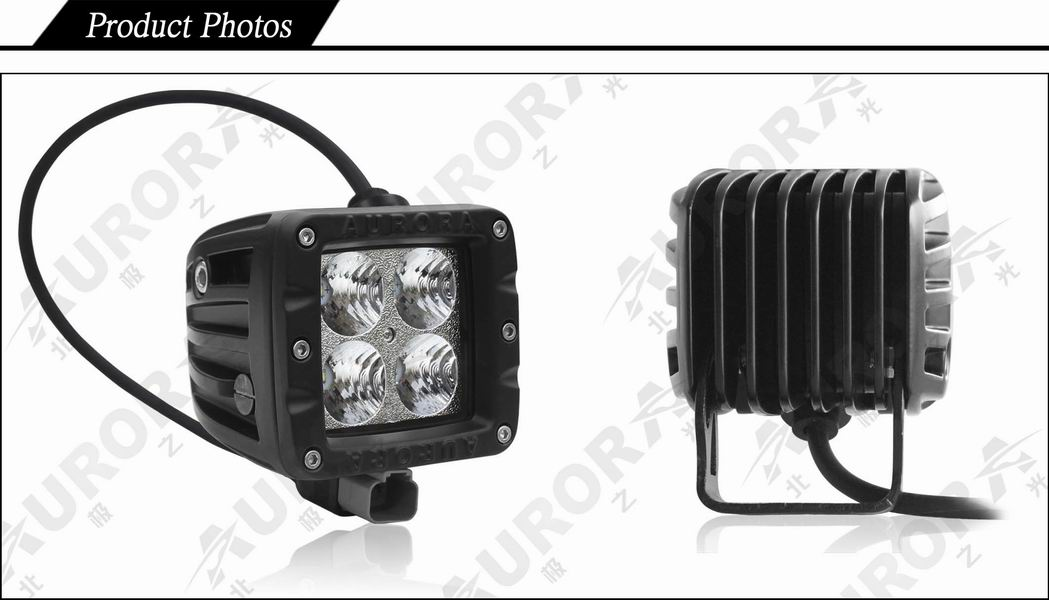 working led light/motorcycle lights off road ATV light vehicle