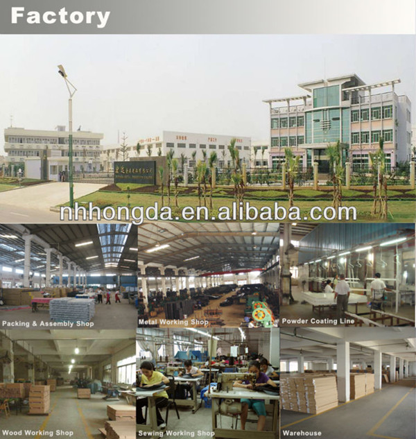 high quality steel land furniture china factory