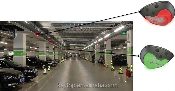 Effective 3 years guaranty Parking guidance system ultrasonic parking sensor