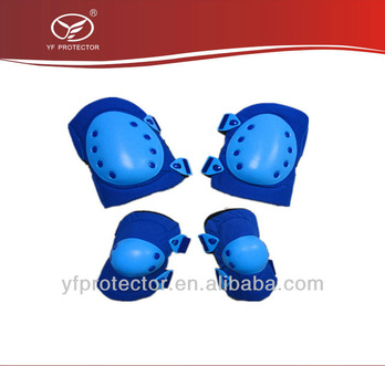 New Hot 4pcs/Set Safety Knee Pad Elbow Protection Wrist Protective Guard Pad Skating inline Gear Drop