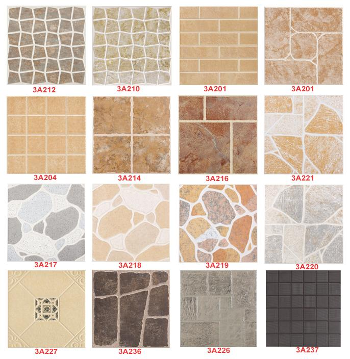 Kinds of tiles for flooring