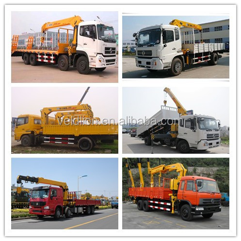 CHINA 8x4 LHD Telescopic Truck with Crane price(Engine Power: 300Hp)