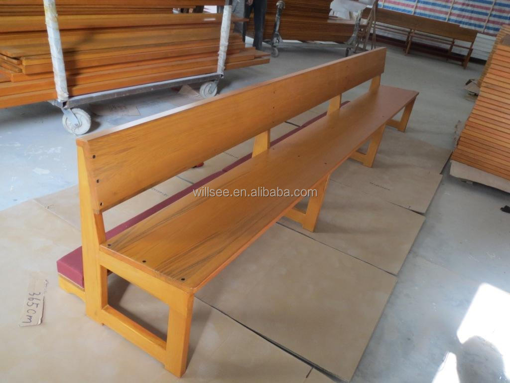 CH-B076-1, Simple Model Oak Wooden Church Bench Pew,Solid Wood Church Furniture