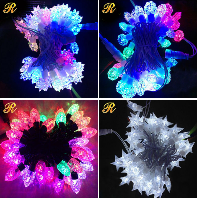Christmas decorative LED commercial string lights