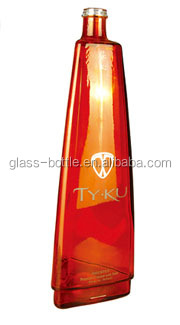 500ml Coating glass bottles