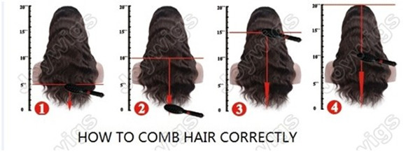 Hot selling natural Looking Human Virgin body wave brazilian hair lace wig