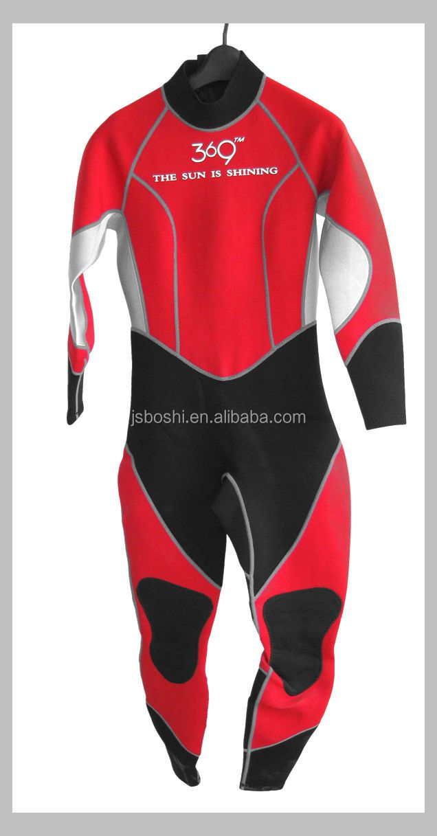 girl's neoprene diving wetsuit