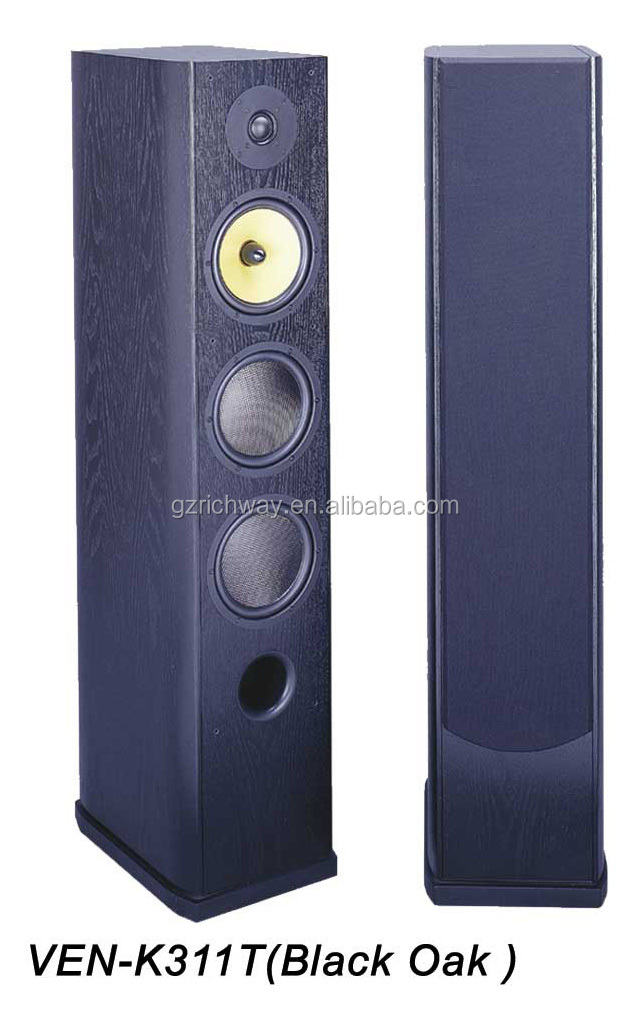 Chinese Wood Made Ven-k311t 150w Floor Standing Speakers With 1 ...